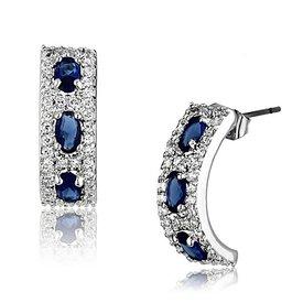 """Selection NoeBijou """"Royal Passion"""" Sapphire-blue Earrings"""