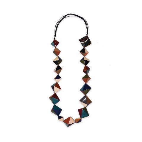 """""""Highland-Sirene"""" Geometrische Halskette"""