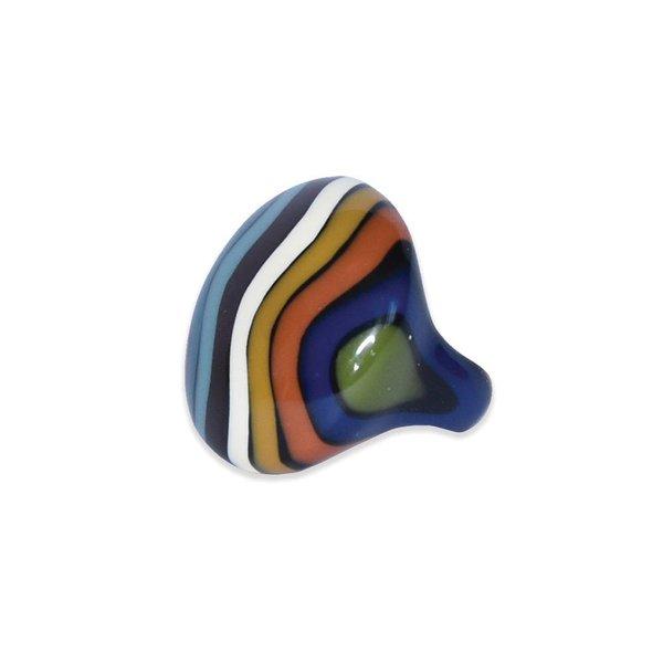 """Ernesto de Barcelona """"Mountaintop Paradise"""" Multi-Coloured Ring"""