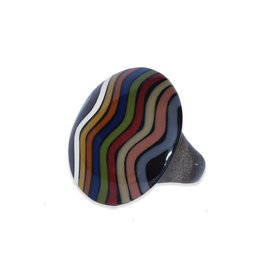 "Ernesto de Barcelona Anillo multicolor ""Reckless Passion"""