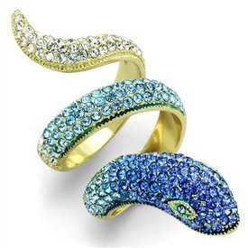 "Selection NoeBijou ""Mamba"" Snake Ring"