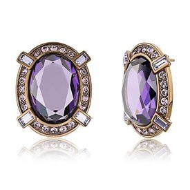 "Selection NoeBijou Earrings ""Amethyst"""