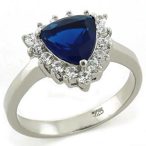 """Anillo """"Sapphire Blue"""""""