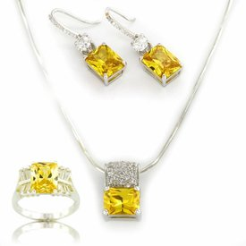 "Selection NoeBijou Jewellery Set ""Sunlight"""