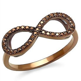 "Selection NoeBijou Ring ""Dark Infinity"""