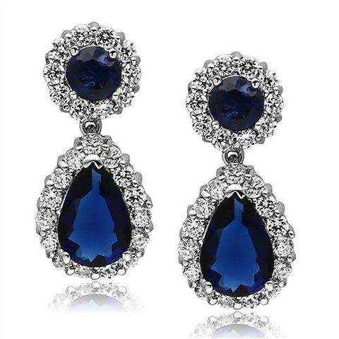 """Earrings """"Blue Tear"""""""