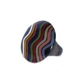 Ernesto de Barcelona Anillo diseño multicolor