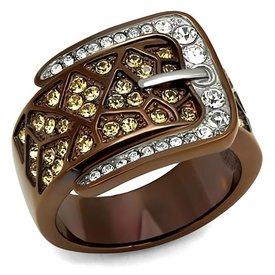 Selection NoeBijou Ring mit Gürtel Design