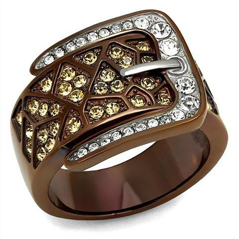 Ring mit Gürtel Design