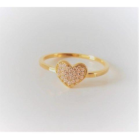 Ring met hart design