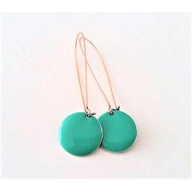 Selection NoeBijou Earrings enamel turquoise