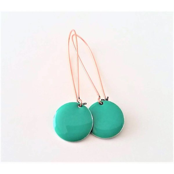 Selection NoeBijou Earrings with turquoise circles