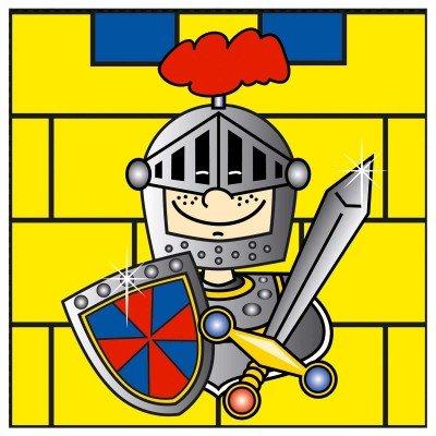 servetten ridders, 20 stuks