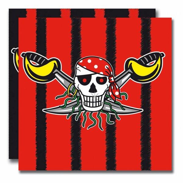servetten piraten, 20 stuks