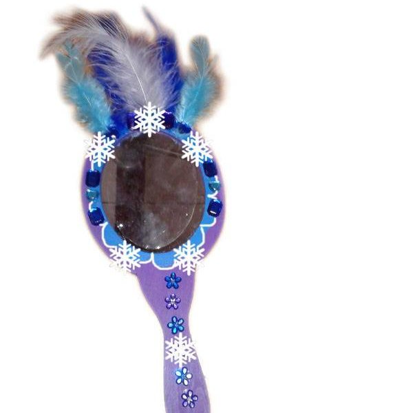 knutselpakket Frozen spiegel versieren