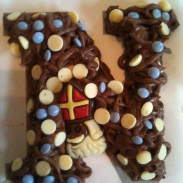 Maak zelf een chocoladeletter op je kinderfeestje