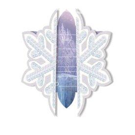 6 uitnodigingen Frozen