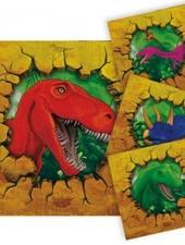 dinosaurus servetten