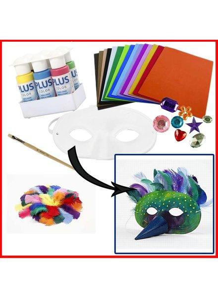 Knutselpakket masker maken