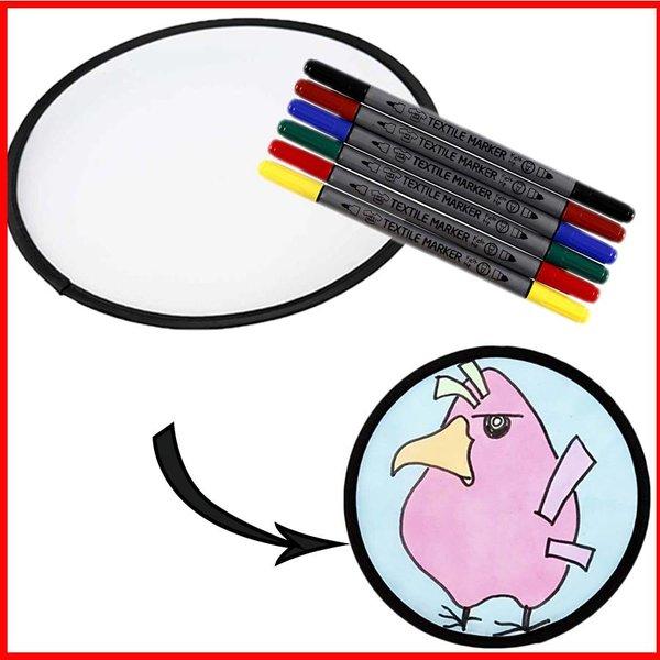 knutselpakket frisbee versieren