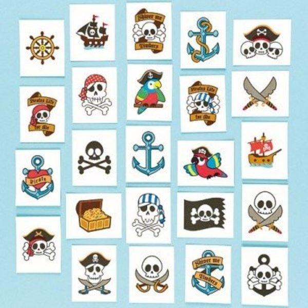 Piraten tatoeages
