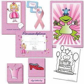 Postpakket voor een prinsessen speurtocht