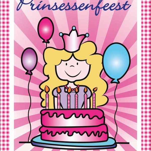 Deurposter prinsessenfeest