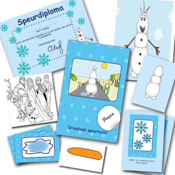 Top Frozen speurtocht voor je kinderfeestje - Suus kinderfeestjes &AC34