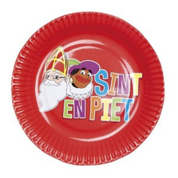 Sinterklaas borden