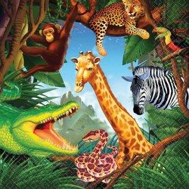 jungle  servetten