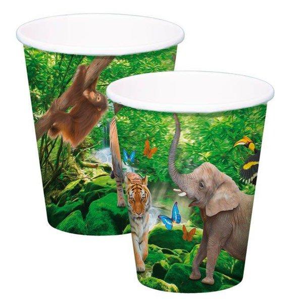 Jungle bekers
