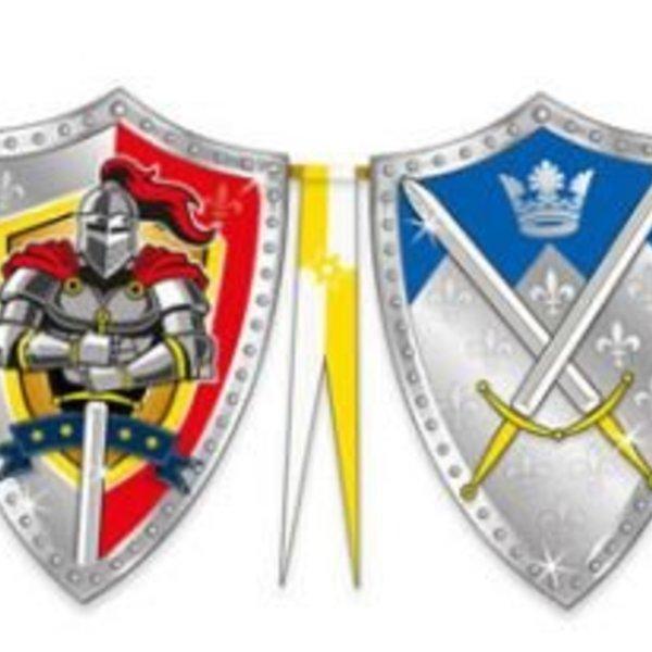 vlaggenlijn stoere ridders