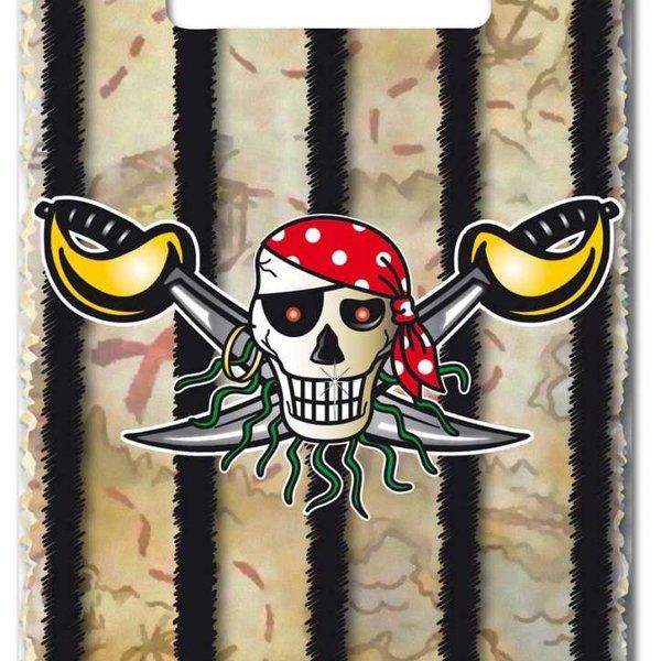 Piraten feestzakjes 8 stuks
