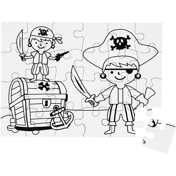 TeACH Me Puzzel piraat