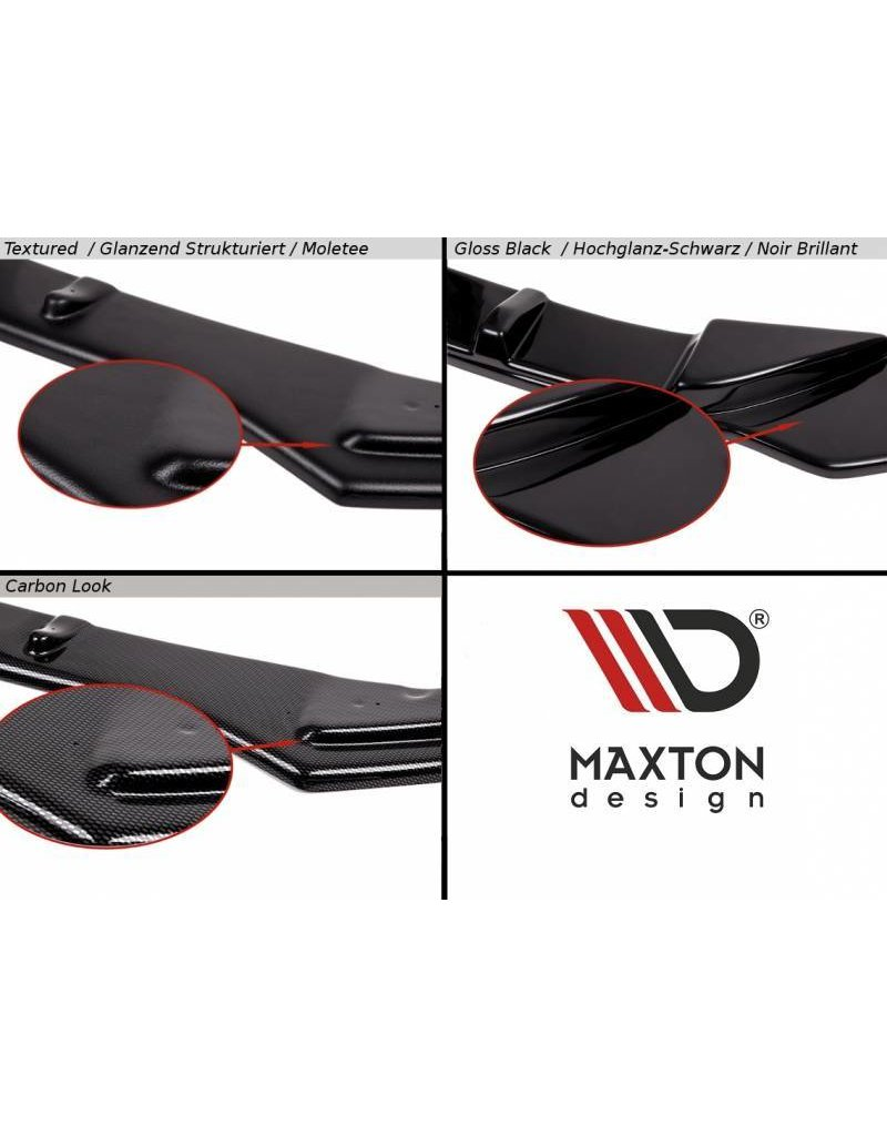 MAXTON DESIGN FRONTSPLITTER CUBRA (TÜV) FORD FOCUS ST250 VFL