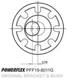 POWERFLEX PU FAHRWERKSBUCHSE VA STURZEINSTELLUNG FORD FOCUS RS350