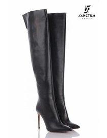 Sanctum  Lange overknee laarzen met dunne hakken