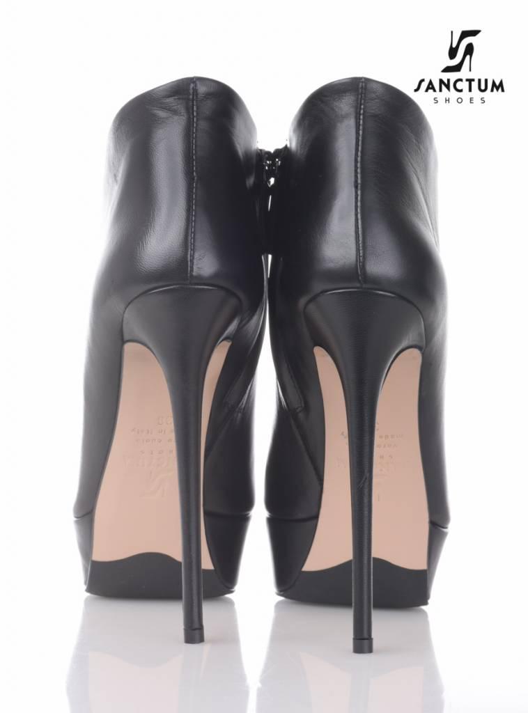Sanctum  Italian platform ankle boots with thin heels  - Copy