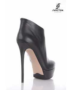 Sanctum  Italian platform ankle boots with thin heels