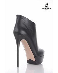 Sanctum  Italian platform ankle boots with thin heels