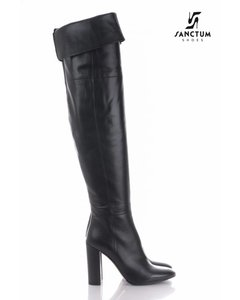 Sanctum  Long high boots with chunky heels