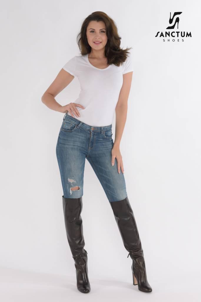 Black suede boots fashion