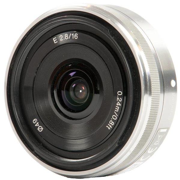 Sony E 16mm F2.8 Pancake (SEL16F28)