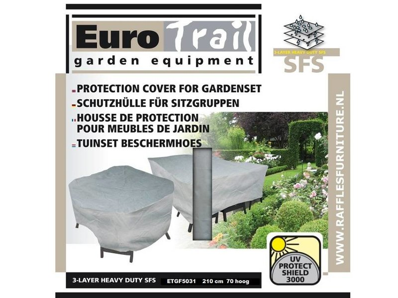 Eurotrail  Tuinsethoes 210 rond 3-Laags