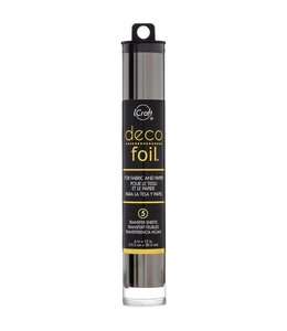 Deco Foil - Transfer Sheets - Pewter Folie