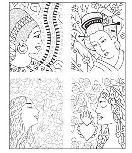 "Lisa Pavelka Texture Stamp ""About Face"""