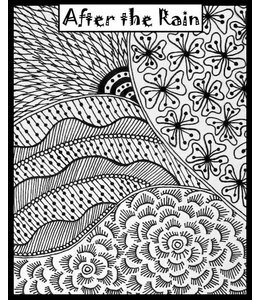 "Helen Breil Texture Stamp ""After the Rain"""