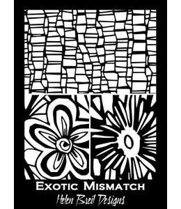 Helen Breil Design Silkscreen Exotic Mismatch