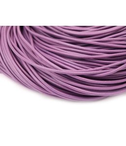 Purple Leather thickness 2 mm. per meter