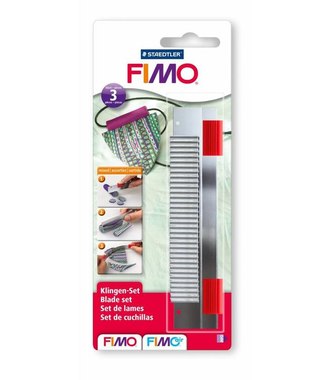 Fimo Blade set with handles